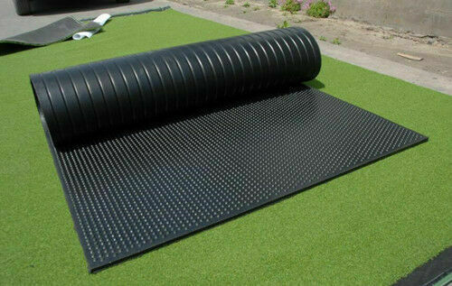 4 Ft X 6 Ft X 12 In Rubber Flooring Container Shop Rubber Mat