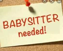 Baby sitter needed 25hrs/week