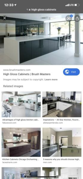 High Gloss Kitchen Cabinets Great Deal On Kitchen Cabinets High