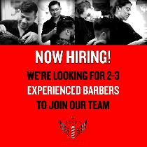 Barbers wanted (FT or PT) for Busy Downtown Shop