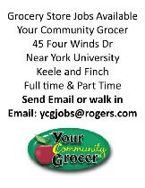 grocery store supermarket jobs