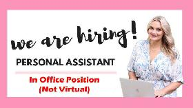Hiring: Personal Assistant for Office Work