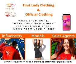 Looking For Influencers, Models, Sales Agents. Be Your Own Boss!
