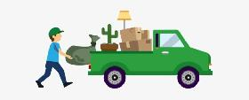 Delivery Drop Moving Pickup Truck for hire