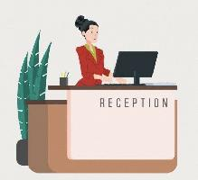 Receptionist needed