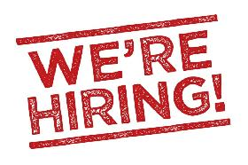 Now Hiring! Part time - Full time Positions available!