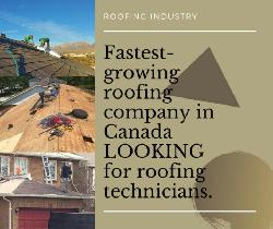 Looking for roofing Technicians