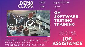 QA / QTP / Selenium and placement - Free trial class 29Aug2020