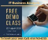 IT Business Analysis Training & placement-Free Demo- 29 Aug 2020
