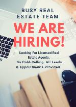 Looking For Licensed Real Estate Agents