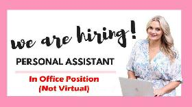 Hiring: Personal Assistant