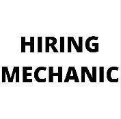 Hiring Mechanic