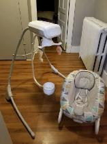 Swing and Bouncy Chair for Sale