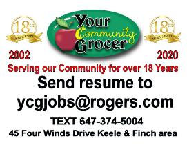 Produce Manager/ Buyer North York Grocery Sore