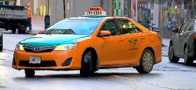 Toronto Taxi Plate for rent