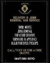 ALMIGHTY DELIVERY & JUNK REMOVAL SERVICES