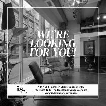 Stylist Position Available at is. Salon Vancouver!