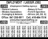 General Labour male needed ASAP