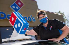 Dominos delivery driver