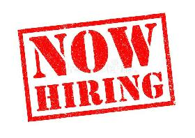 Hiring for the sales and marketing position