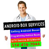 Android Boxes fully loaded IPTV Programming Pay Per View