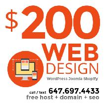 Toronto FREELANCE Web Design - FAST, RELIABLE, AFFORDABLE