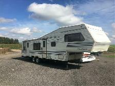 1989 COACHMEN CLASSIC 35FT / OFFICE TRAILER, HUNT CAMP
