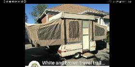 88 coleman pop up camper sleeps 6