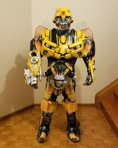 Book your Transformers (Bumble Bee and Optimus Prime) today
