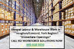 Automotive Assembly Workers Needed In Vaughan & Toronto