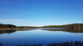 100 Ac Vacant Lot on 2 Private Lakes