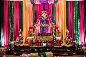 Pakistani and Indian wedding decor