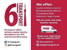Courier Services & Refrigerated van Services