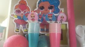 LOL Surprise doll party decorations