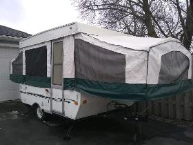 2004 Palomino Yearling Pop Up Tent Trailer