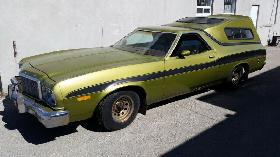 Own a classic! 1974 Ford Racncher GT!
