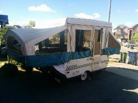 Tent Trailer -SOLD