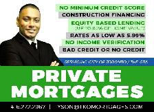 ✪ Private Mortgages ✪ 90% LTV ✪ 2nd Mortgages ✪ Fast Approvals ✪