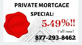 ⭐️5.49% Private 1st Mortgages! ⭐️6.99% Private 2nd Mortgages!
