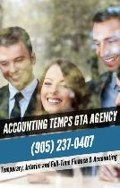 Temporary, Interim and Full-Time Accounting & Finance Profession